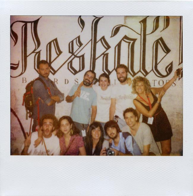 Reskate & Amaia Arrazola & Chamo San & Staff Festival Asalto