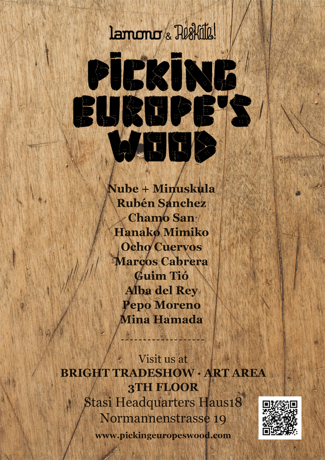 Picking Europe's Wood by Reskatestudio