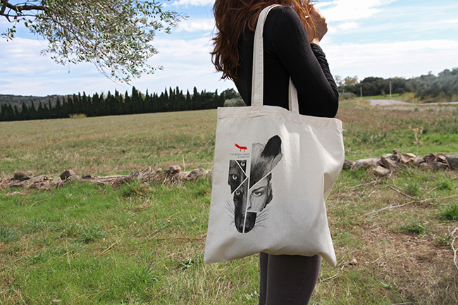 The Indian Runners tote bag dessigned by Chamo San