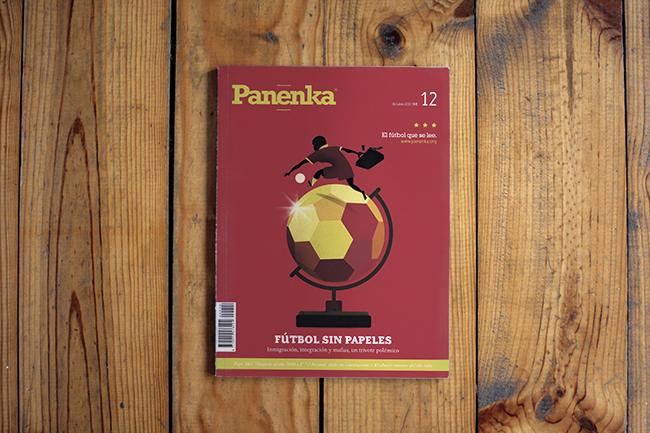 Portada Panenka 12 Fútbol sin papeles