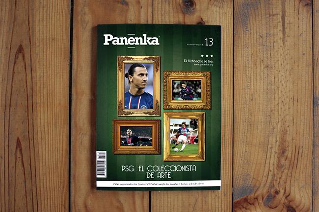 Portada revista Panenka 13 PSG fútbol