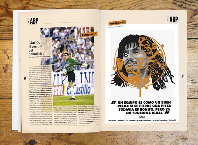 Gullit for Panenka by Chamo San