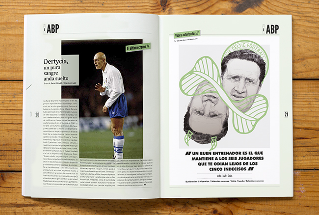Jock Stein for Panenka by Chamo San