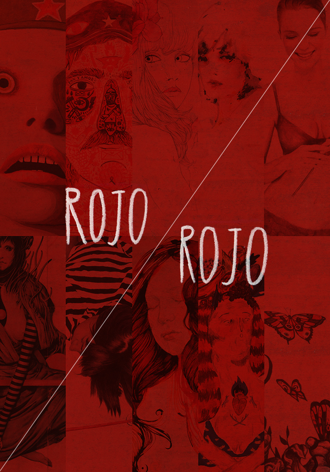 Rojo Rojo exhibiton at Miscelanea gallery Barcelona