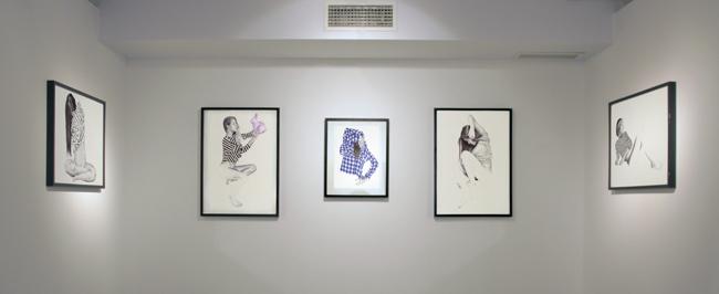 simbiosis Iam Gallery Chamo San, Conrad Roset, Guim Tió, Amaia Arrazola