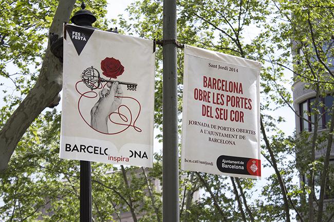 Sant Jordi Barcelona 2014 by Chamo San