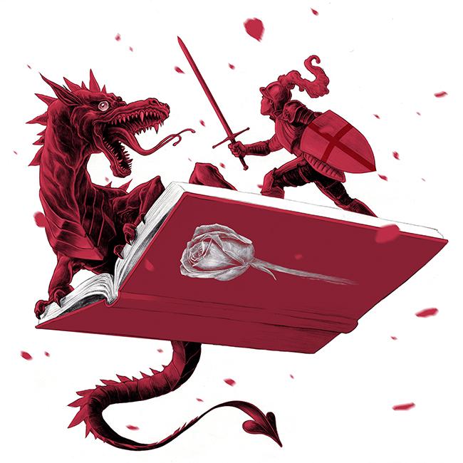 Sant Jordi Dragon by Chamo San