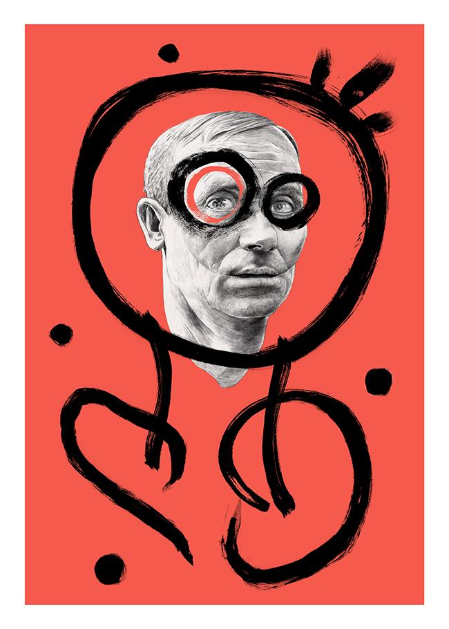 Joan Miró dibujo drawing per Chamo San