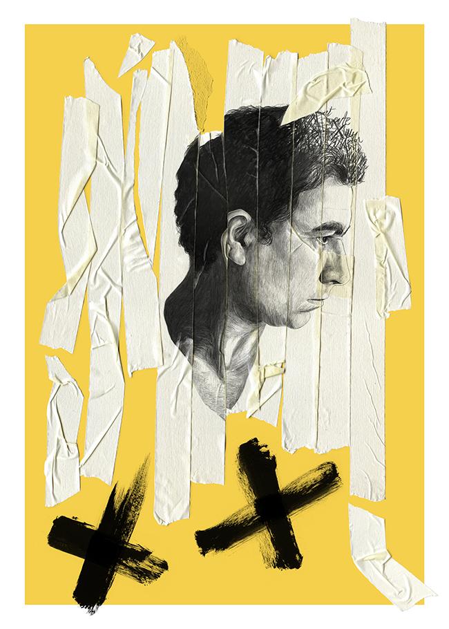 Antoni Tàpies dibujo drawing per Chamo San